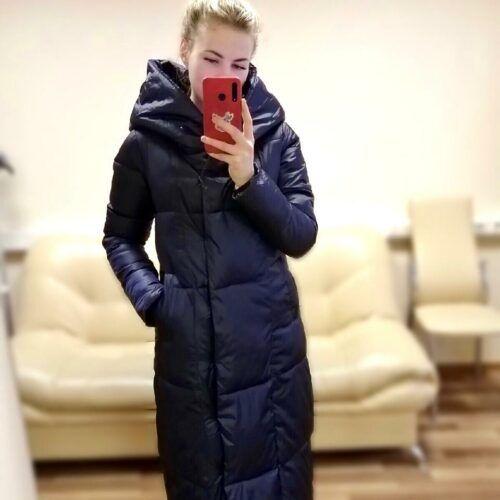 Куртка женская теплая удлиненная