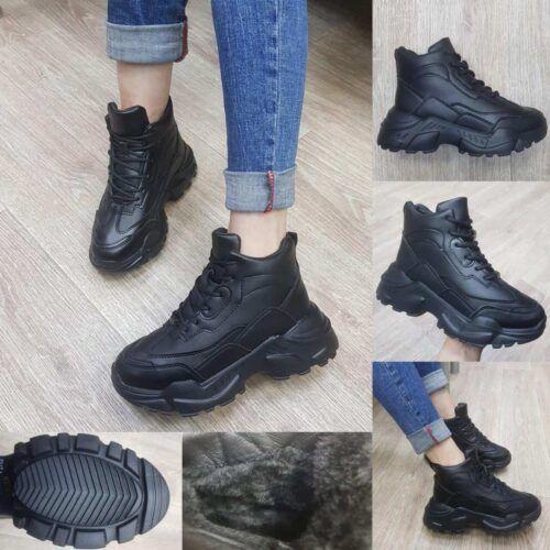 Женские зимние высокие ботинки Футуре