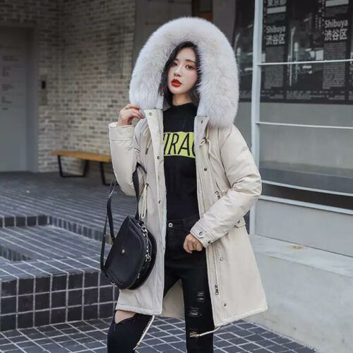 женская зимняя куртка парка СПб