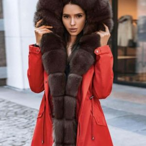 Парка женская (куртка с мехом)