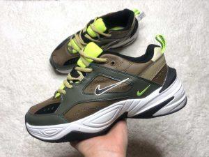 Кроссовки Nike M2K Tekno зеленые