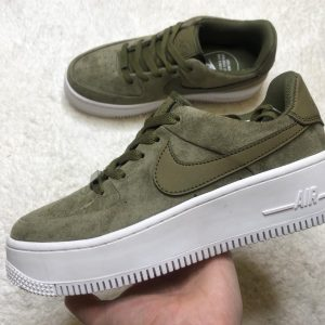 Кеды Nike WMNS AIR FORCE 1 SAGE LOW хаки