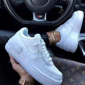 Кeды Nike Air Force 1 Shadow White New
