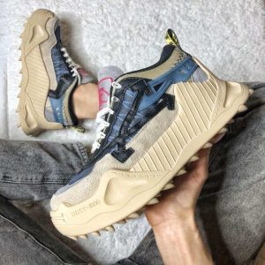 Кроссовки Off-White бежевые