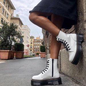 Ботинки Doctor Martens белые