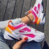 Кроссовки Nike Tekno white pink