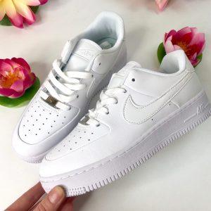 Кроссовки Nike Air Force Sage белые