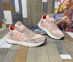 Кроссовки Adidas Nite Jogger персиковые