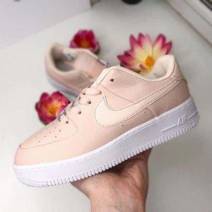 Кроссовки Nike Air Force Sage  Low бежевые