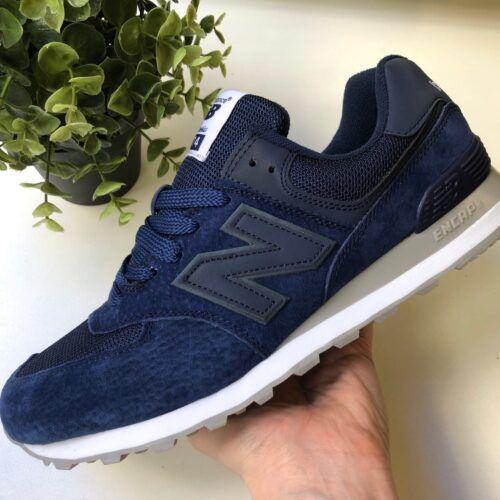 Кроссовки New Balance темно-синие мужские