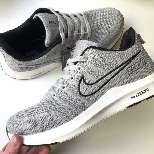 Серые мужские крооссовки Nike 2020