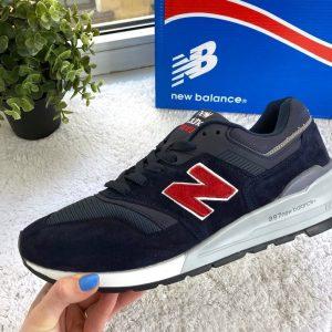 Кроссовки 997 NB синие с красным