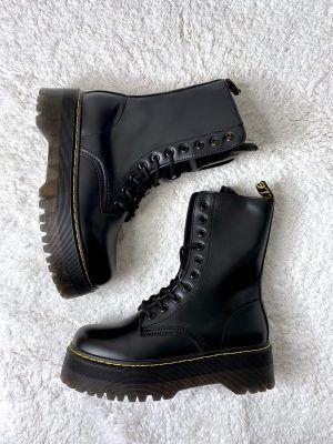 Стильные ботинки на толстой подошве Dino
