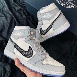 Кеды Nike Air Jordan 1 Dior