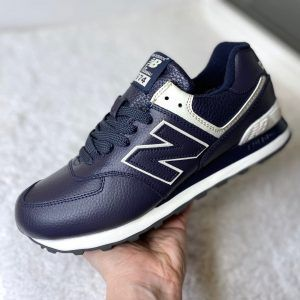 Кроссовки New Balance 574 фиолетово-синие