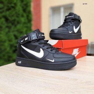 Зимние кеды Nike Air Force 1 '07 LV8 Utility черные