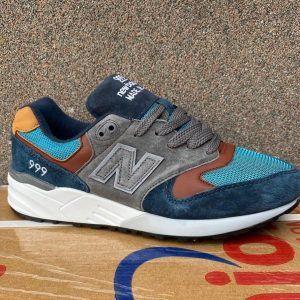 Кроссовки New Balance 999 сине-серо-голубые