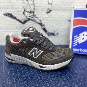 Кроссовки New Balance 991 серо-коричневые