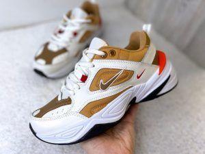 Кроссовки Nike Tekno Dark Gold