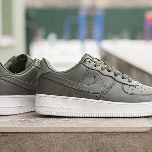 Кеды Nike  AIR FORCE 1 LOW хаки